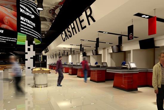 室內商業空間—超市區